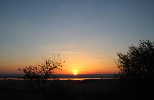 autumn sunset sky sunlight tree fall nature river evening countryside bush october riverside horizon silhouettes romania bluehour contrejour olt 2013 marinela2008