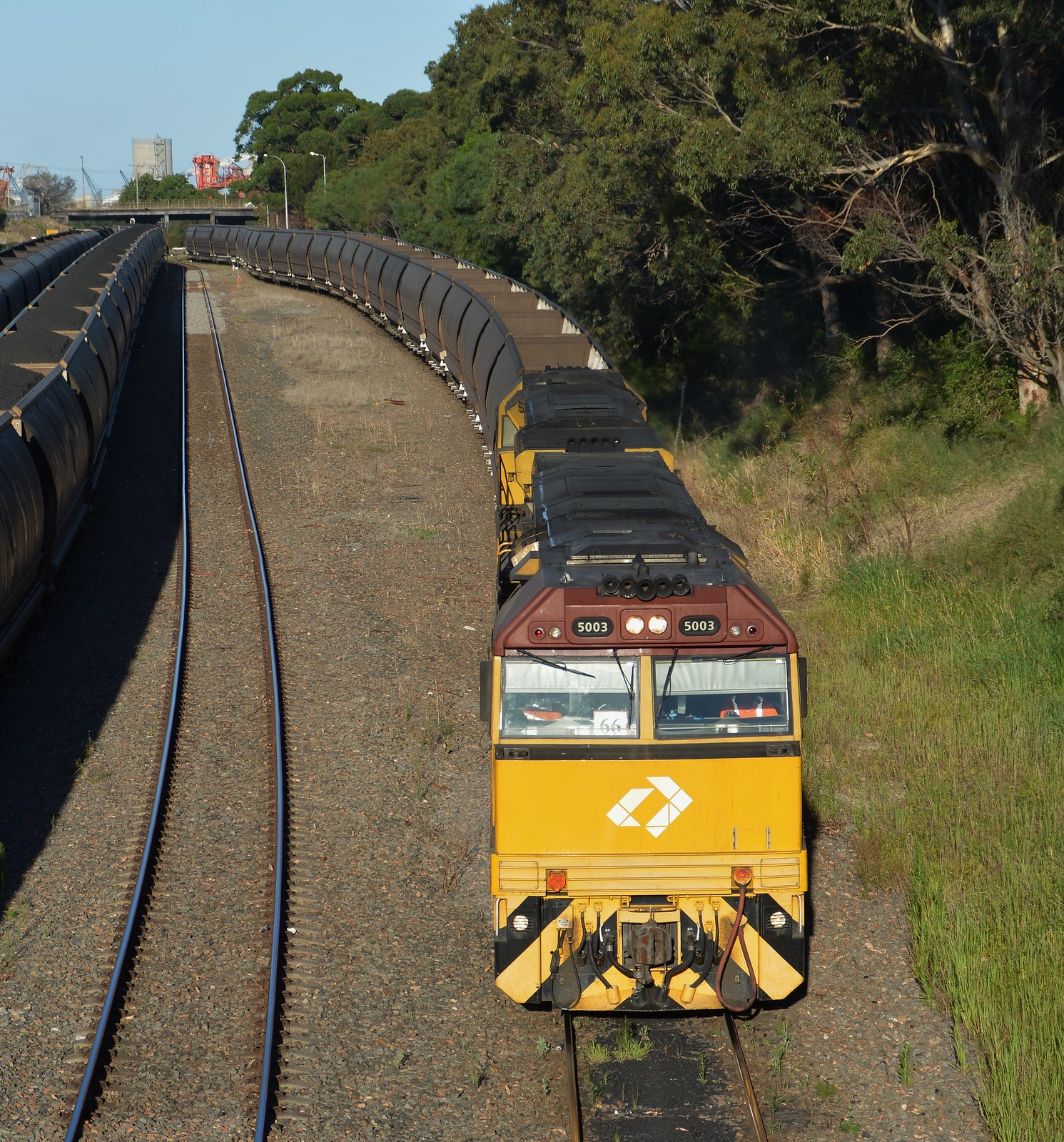 5003-5028 Down Tighes Hill Pacific Hwy Bridge by LOCOPOWER