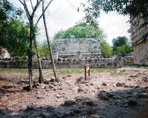 Chichén Itzá Wall and Ruin