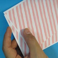 วิธีพับกล่องกระดาษรูปหัวใจส่วนฐานกล่อง 004