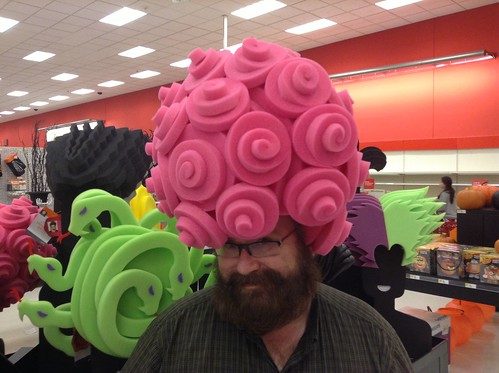 Foam Wigs at Target Halloween 2013 by Chris March ...