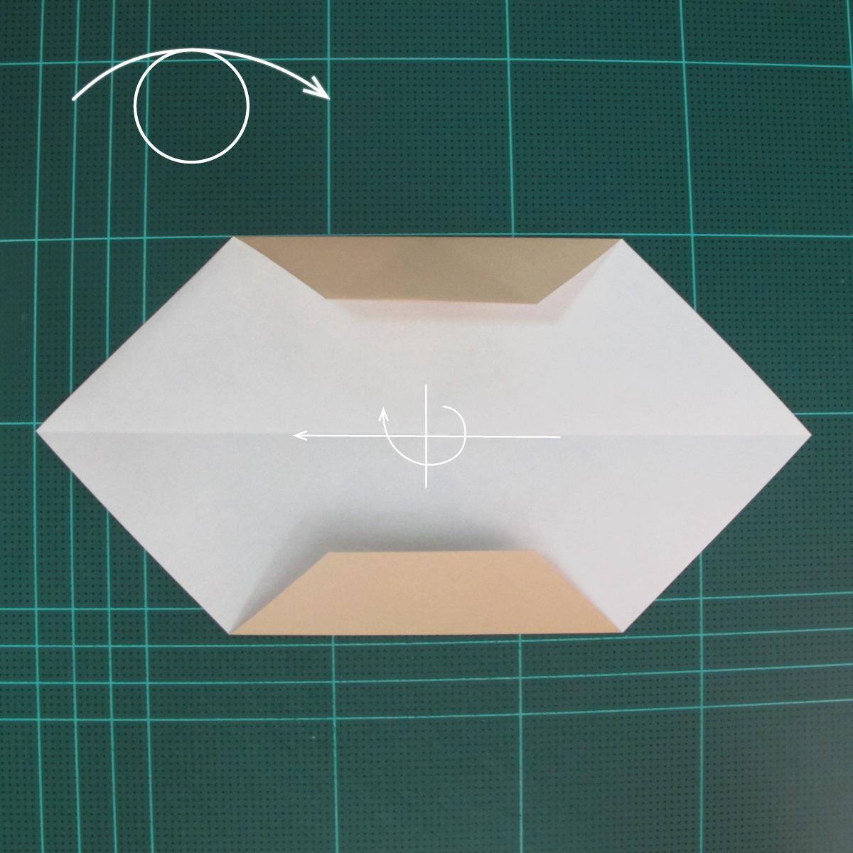 การพับกระดาษเป็นรูปเรือเรือสำปั้น (Origami Sampan) 004