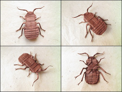 Bed bug 2.0 designed by me | by Damian Malicki Origami