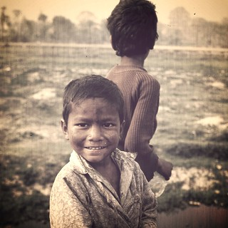Street Urchins . Nepal .. sending my blessings to its people