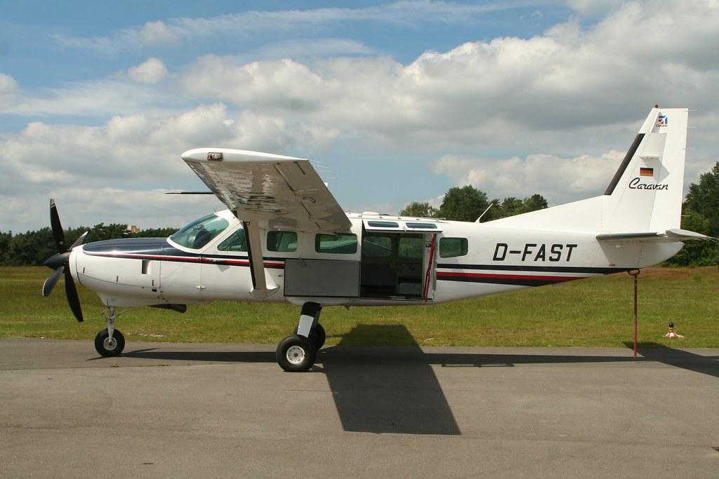 Cessna C208 Caravan aircraft sticker