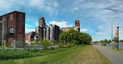 Canada Malting Along Lachine Canal