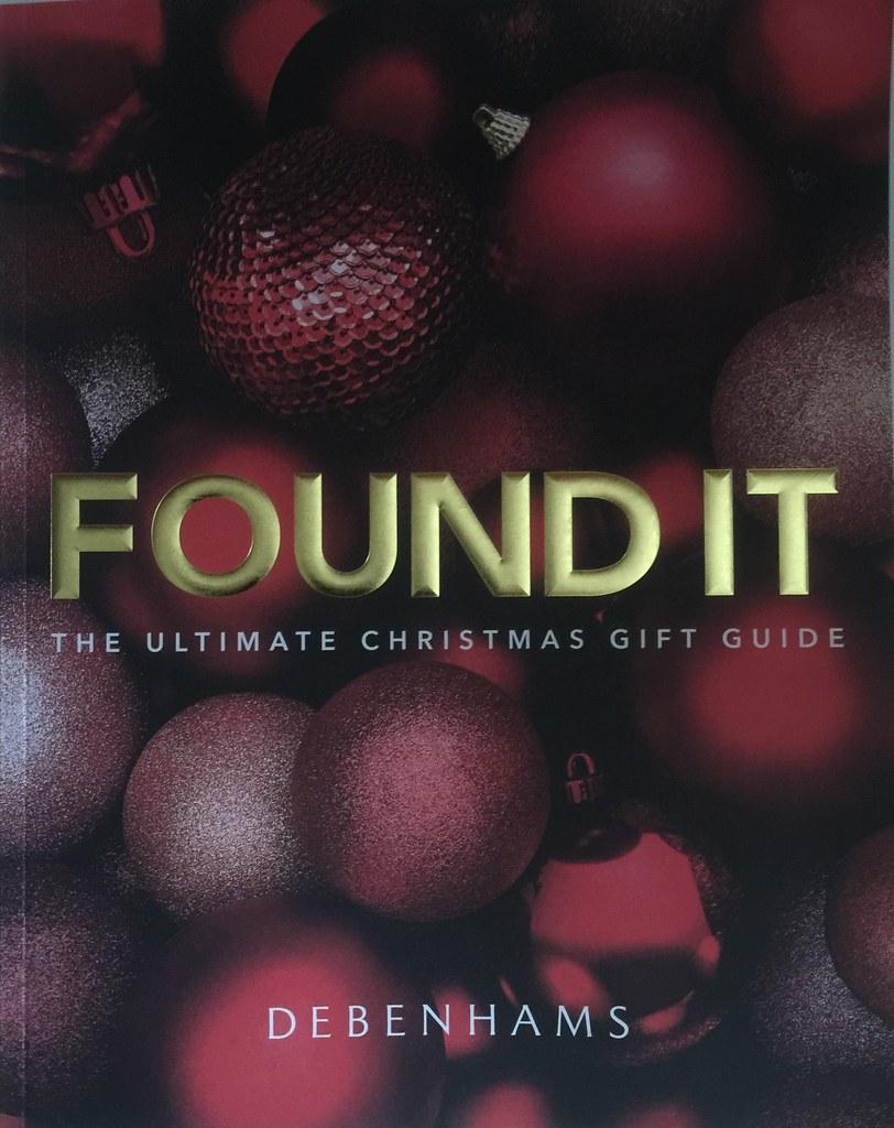 Christmas Gift Guide Catalogue.Debenhams Ireland Christmas Catalogue Gift Guide 2016 Flickr