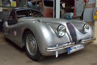 1948–1954 Jaguar XK 120 _ba