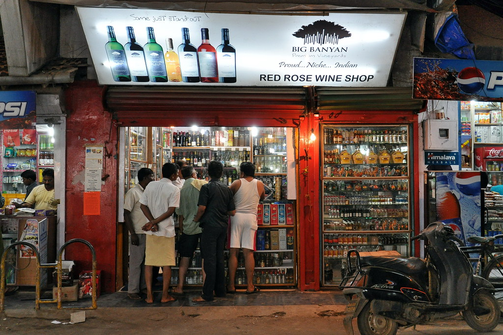 Image result for wine shop india