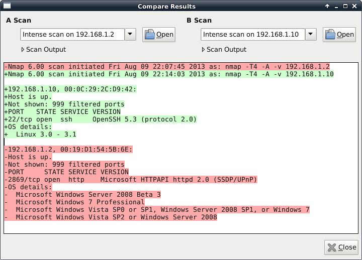 Zenmap GUI Network Scanner - Compare Scanning Results | Flickr
