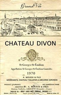 France - St. Émilion 1970