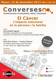 Converses XI: 'El càncer. L'impacte emocional en la persona i la família' | by Grup - Fundació Sant Pere Claver