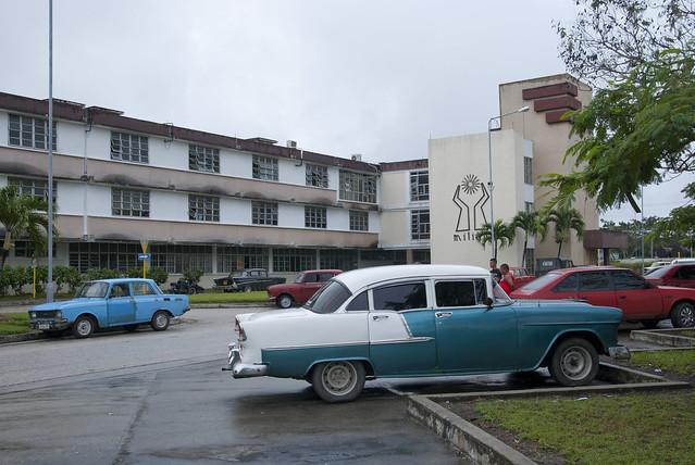 Hospital General Arnaldo Milián Castro, en Santa Clara. (llamado
