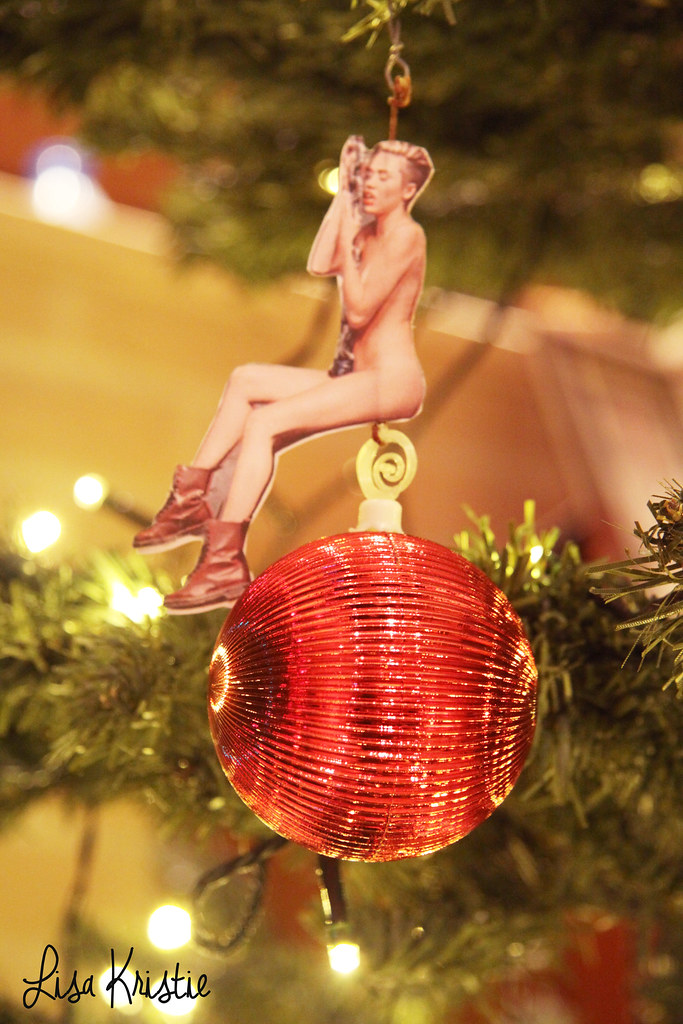 Miley Cyrus Wrecking Ball Christmas Ornament.Miley Cyrus Christmas Wrecking Ball From Wrecking Ball To