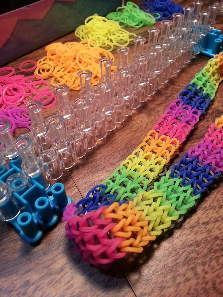 rainbow loom triple