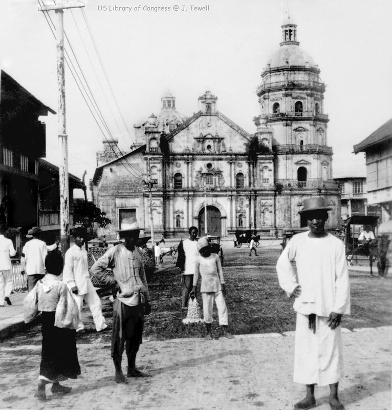 Binondo Church and convent, Manila, Philippines, 1899