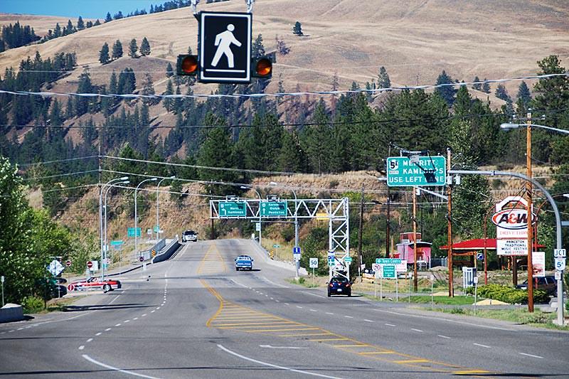 Crowsnest Highway 3, Princeton, Similkameen, British Columbia, Canada