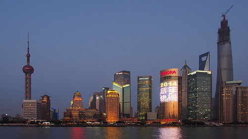 Shanghai Skyline from the Bund | by Wilson Hui