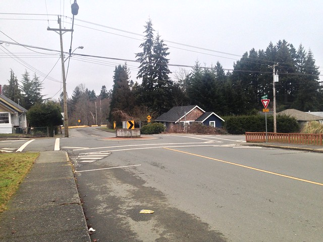 Roundabout in Courtenay