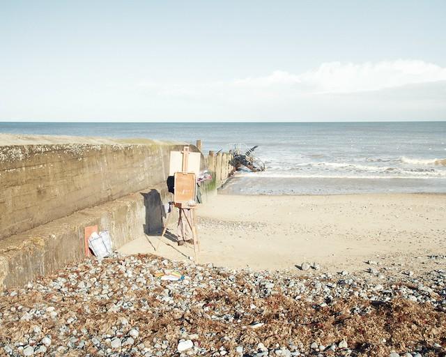 beach, painter seaweed.