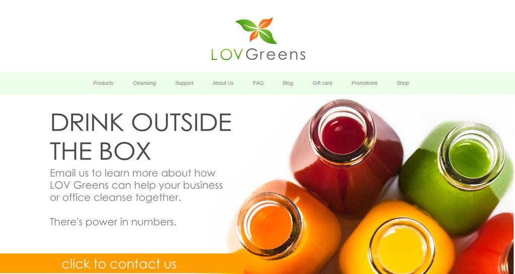 LovGreens-Web-Development