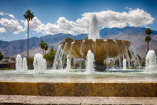 The Palm Springs Airport Fountain | by Randy Heinitz