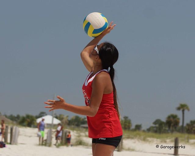 Model Beach Volleyball South Beach 2015 - a photo on