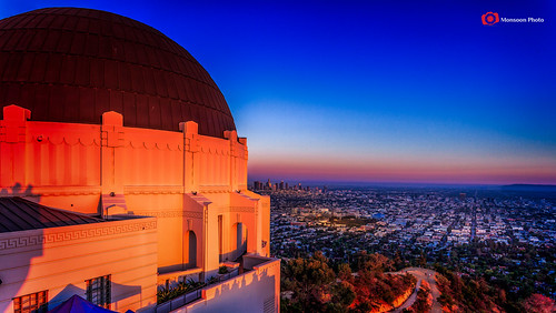 california sunset usa losangeles dusk observatory griffith westcoast hollywoodhills leefilter golderhour canon1740mmlusm nikfilter bwcp canon5dmarkiii lightroom5 photoshopcc cmonsoonphoto