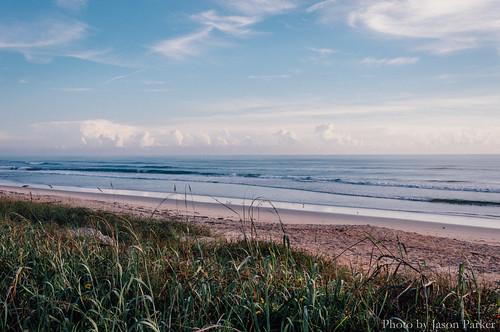 morning flaglerbeach beach atlantic ocean sea vsco vscofilm color sky outdoor landscape florida eastcoast dunes seaoats a1a scenic
