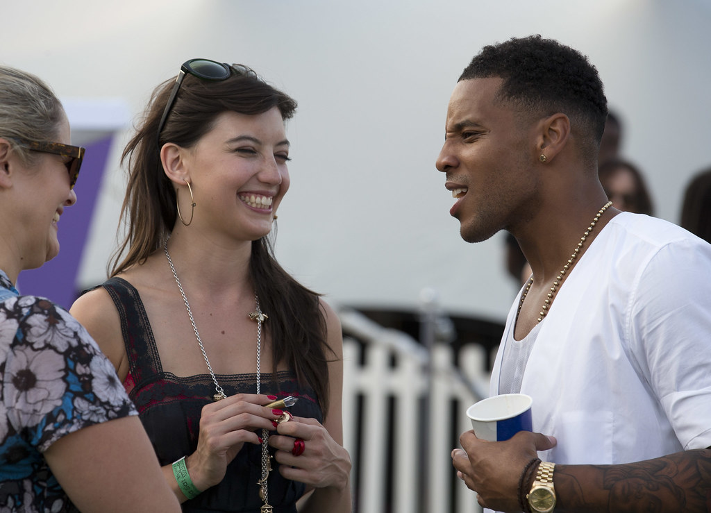Daisy Lowe & Reggie Yates at Yahoo! Wireless Festival | Flickr