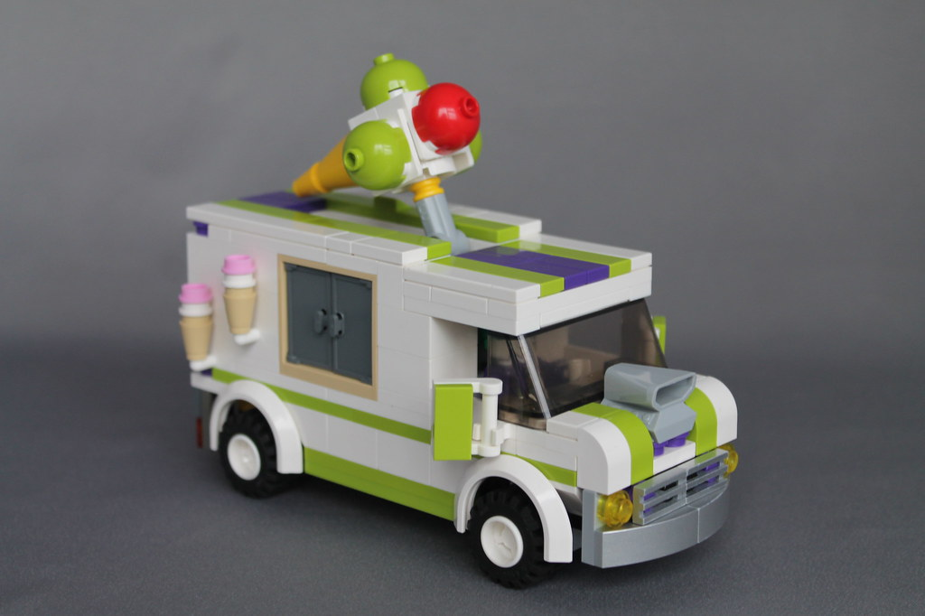 Jokers Ice Cream Van Jokers Ice Cream Van Based On The L Flickr