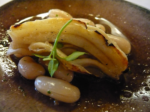 Sea cucumber on white beans | by WordRidden