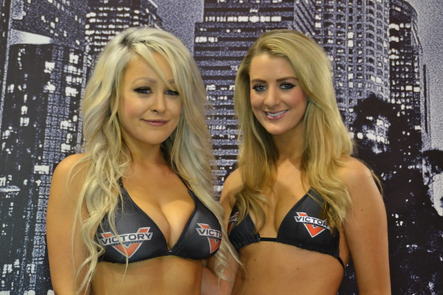 Victory Motorcycle Babes Kate Elizabeth Bray & Michelle Westby