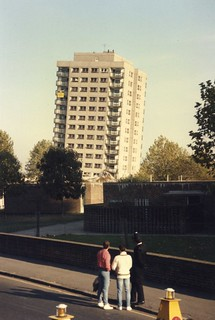 1985 – Failed planned explosive demolition in Hackney - 1 | by RTW501