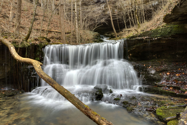 The Old Mill Cascade, White County, Tennessee 1