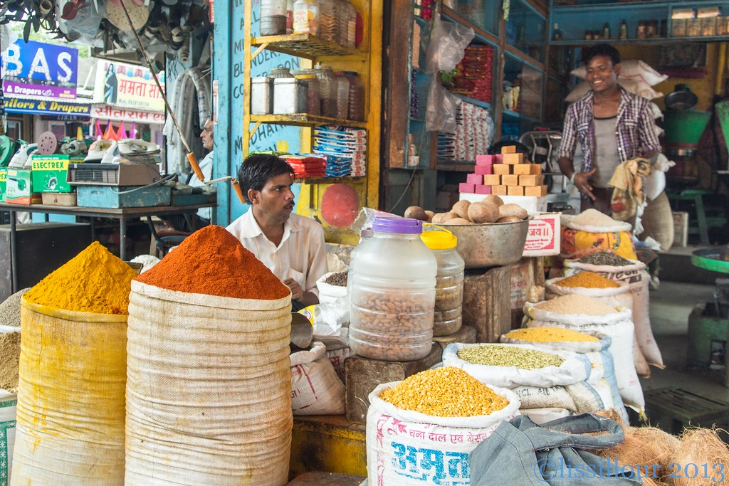 Au bazar de Bundi bazar ..India