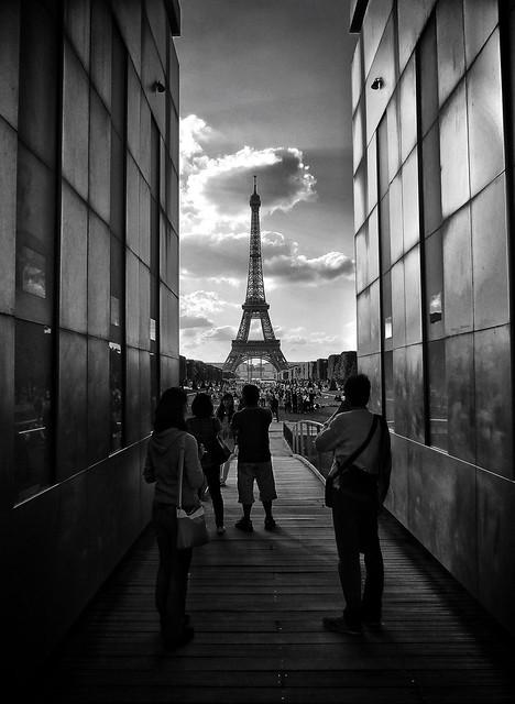 Eiffel framed