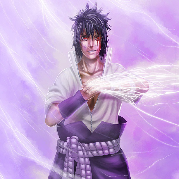 Sasuke And His Crazy Eyes In A Chidori Swirl Naruto Sas Flickr Some characters just need a way to show off how undeniably evil they are. https www flickr com photos 96015474 n08 9138716557