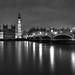 Image: Last Night in London (B&W)