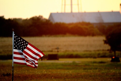 sunset america photo flag cemetary 4th july el cementary reno fourth elreno hartless