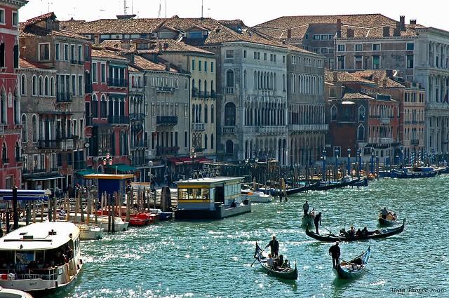 Busy Venice