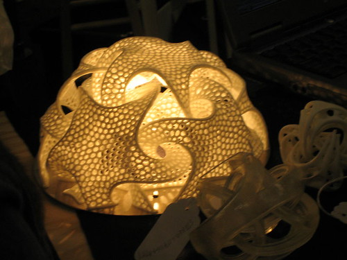 A 3D lamp by Bathsheba Grossman | by laurence