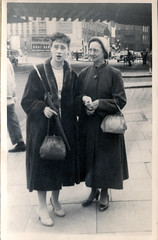 Aunt Jean and her mother, Grandma S 1950s