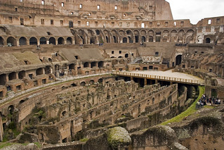 Inside the Colosseum (Rome) | by alfonsator