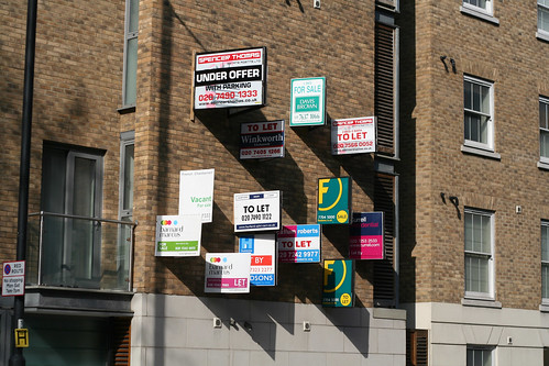 Estate Agent Overload | by blech​