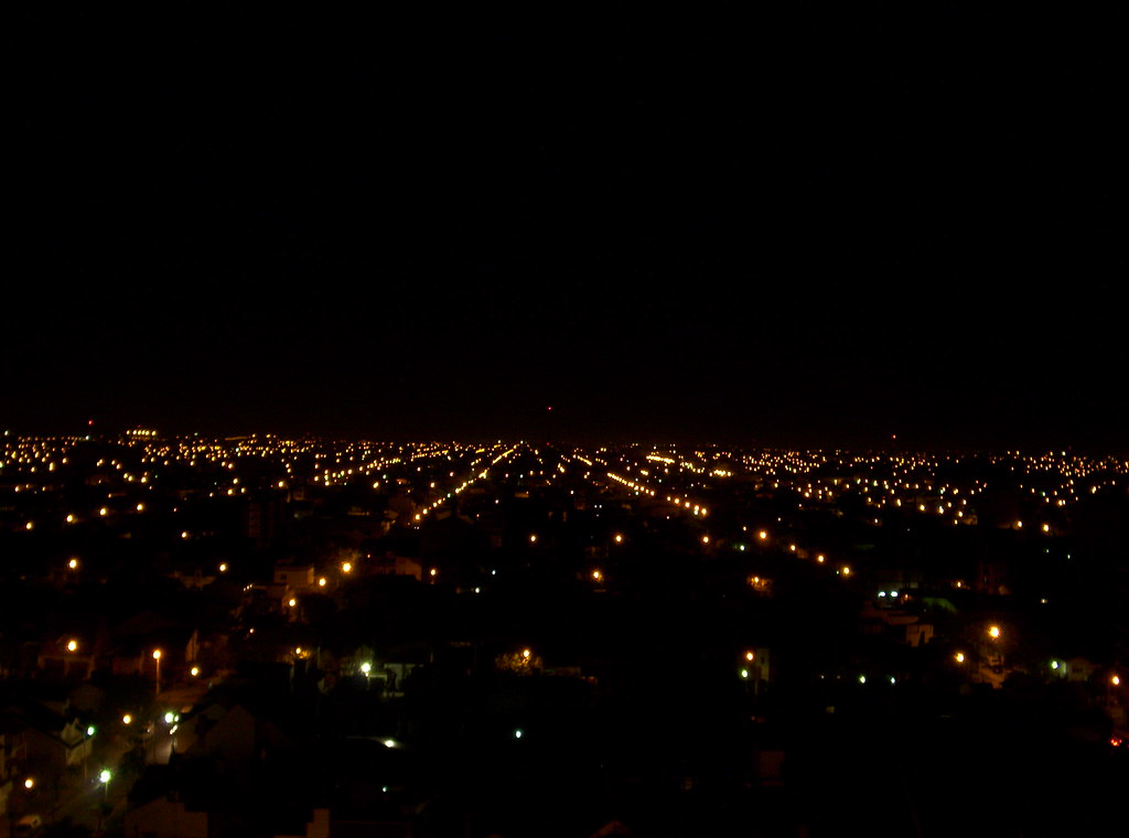 La Noche De Zona Oeste Ii En La Terraza Del Edificio De Mi