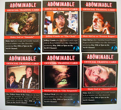 "WATCH ""ABOMINABLE"", SATURDAY, MAY 20TH, 9PM on the SCI-FI CHANNEL!"