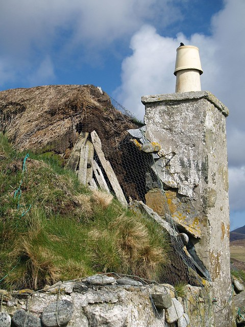 Dilapidated Thatch, South Uist