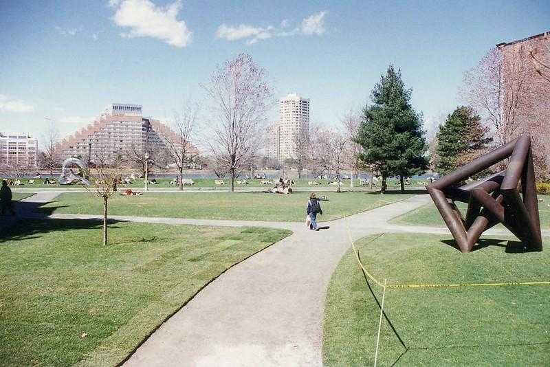 Boston University: Alpert Mall and BU Beach