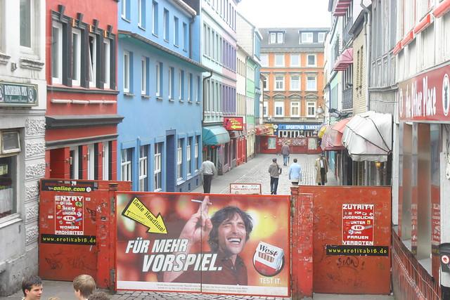 Herbertstrasse - Hamburg - a photo on Flickriver